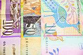 Macedonian currency bank notes