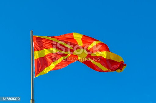 1056280906istockphoto Macedonian Flag waving 647809020