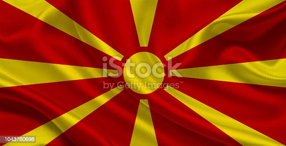 1056280906istockphoto Macedonian waving flag 1043760698