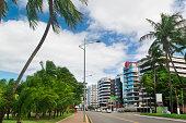 Elegant buildings in front of Pajucara Beach