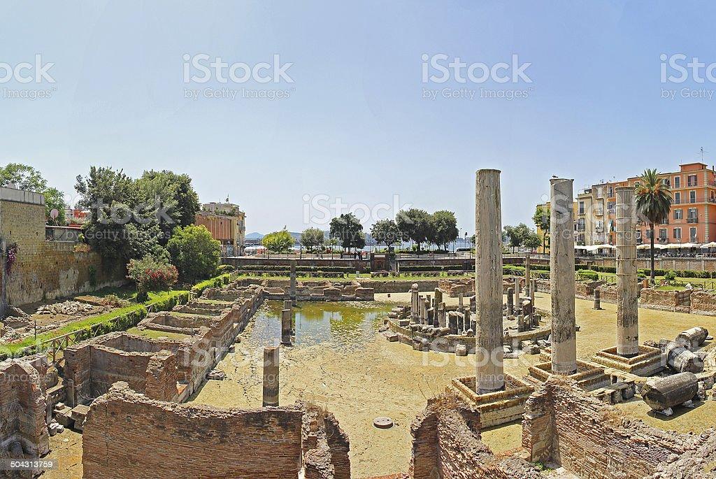 Macellum of Pozzuoli stock photo