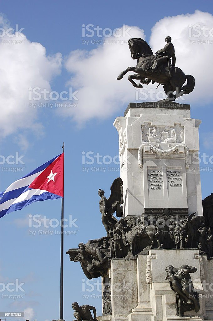Maceo Monument, Havana royalty-free stock photo