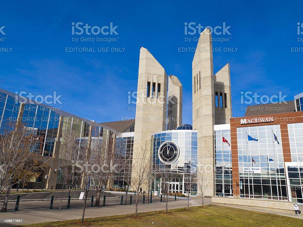 MacEwan College Edmonton, Canada stock photo