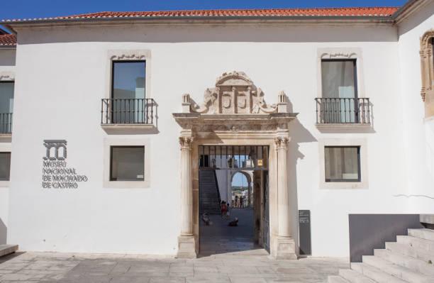 Fassade des Nationalmuseums Machado de Castro, Coimbra, Portugal – Foto