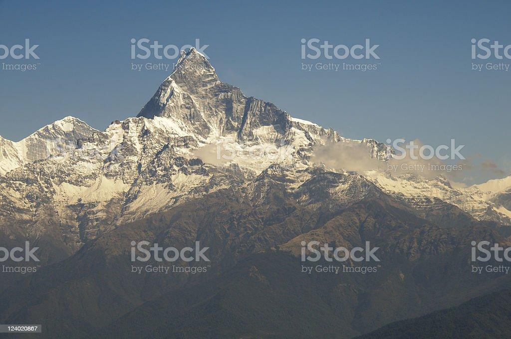 Machhapuchhre,Himalaya royalty-free stock photo