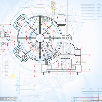 Machine blueprint outline design paperwork document stock photo machine blueprint outline design paperwork document stock photo more pictures of abstract istock malvernweather Images