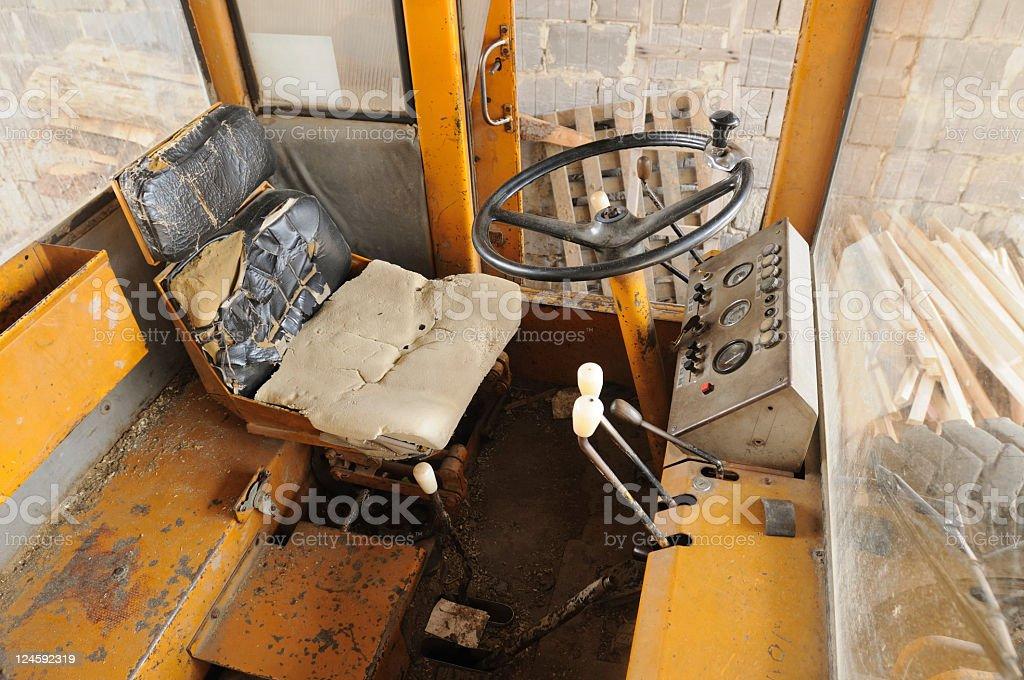 Machine cabin royalty-free stock photo
