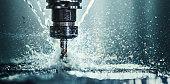 CNC machine drill.