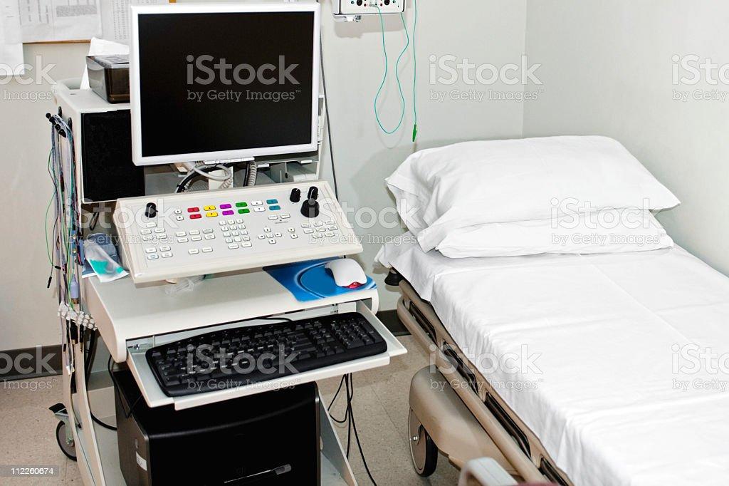EMG Machine for testing nerve damage ( electromyography ) royalty-free stock photo