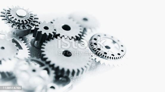 Mixed machine gears with copy space.