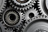 istock Machine Gears 1256530089