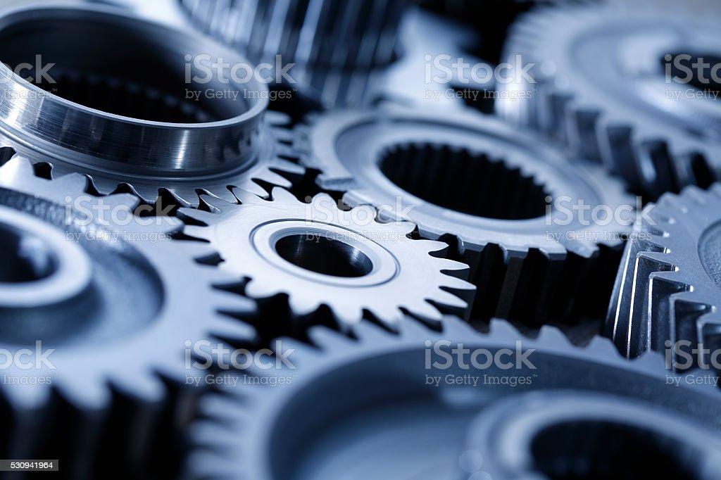 Machine-Getriebe - Lizenzfrei Arbeiten Stock-Foto
