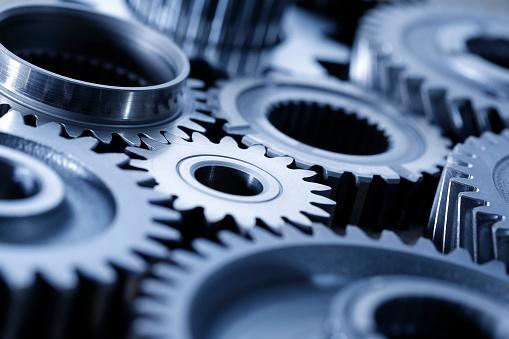 Machinegetriebe Stockfoto und mehr Bilder von Arbeiten