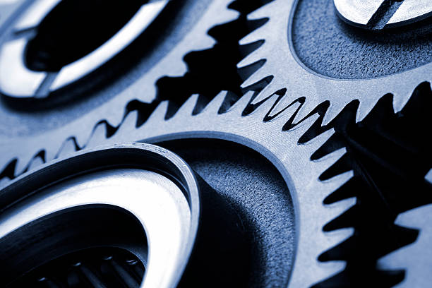 machine gears - cog stock photos and pictures