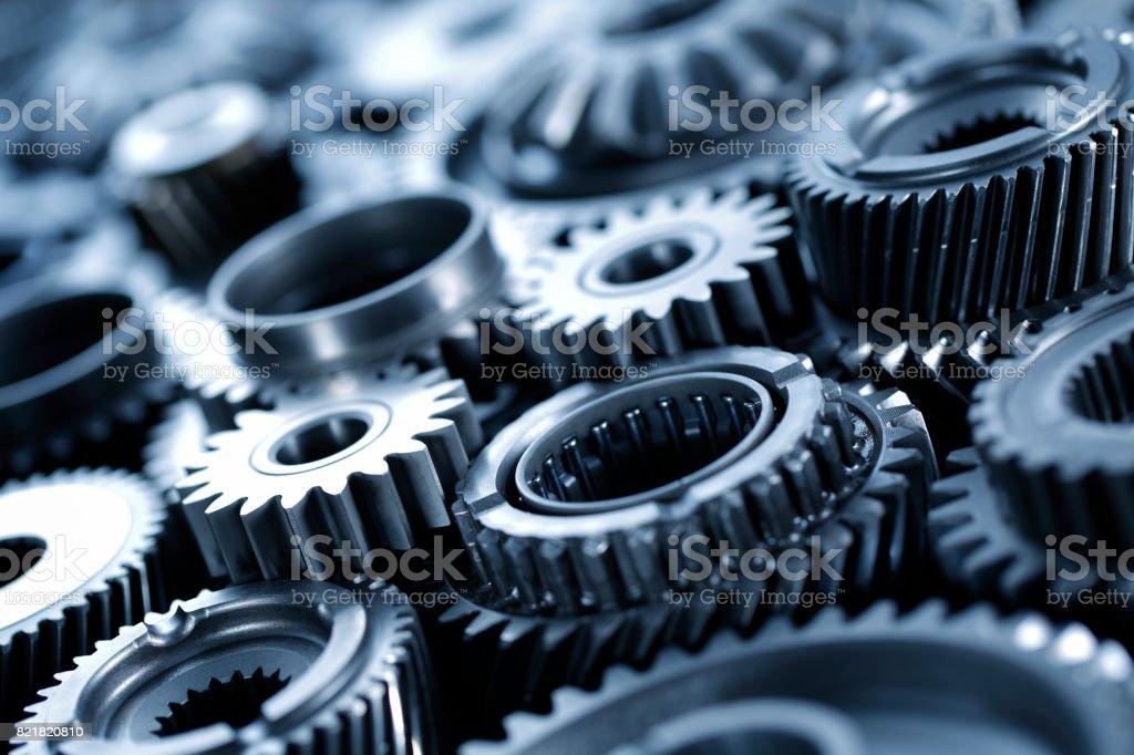 Machine Gears stock photo