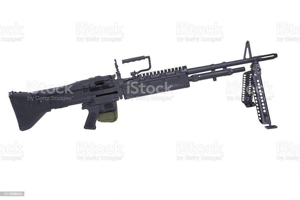 M60 machine gun stock photo