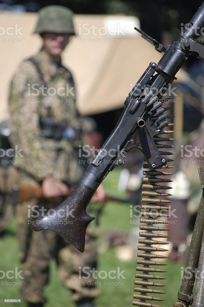Machine Gun. royalty-free stock photo