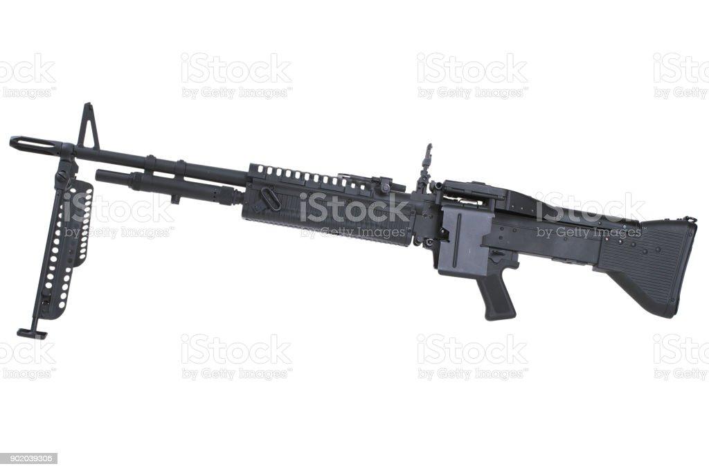 M60 machine gun stock photo