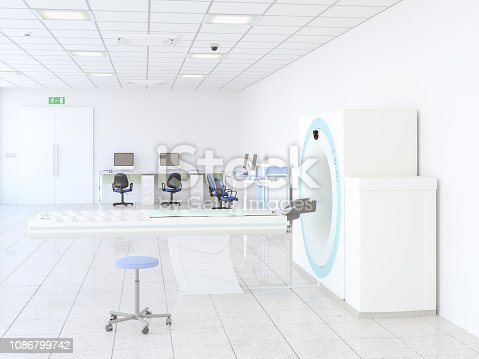 157642425istockphoto MRI machine in a hospital 1086799742