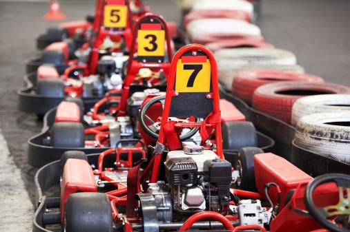Machine karting
