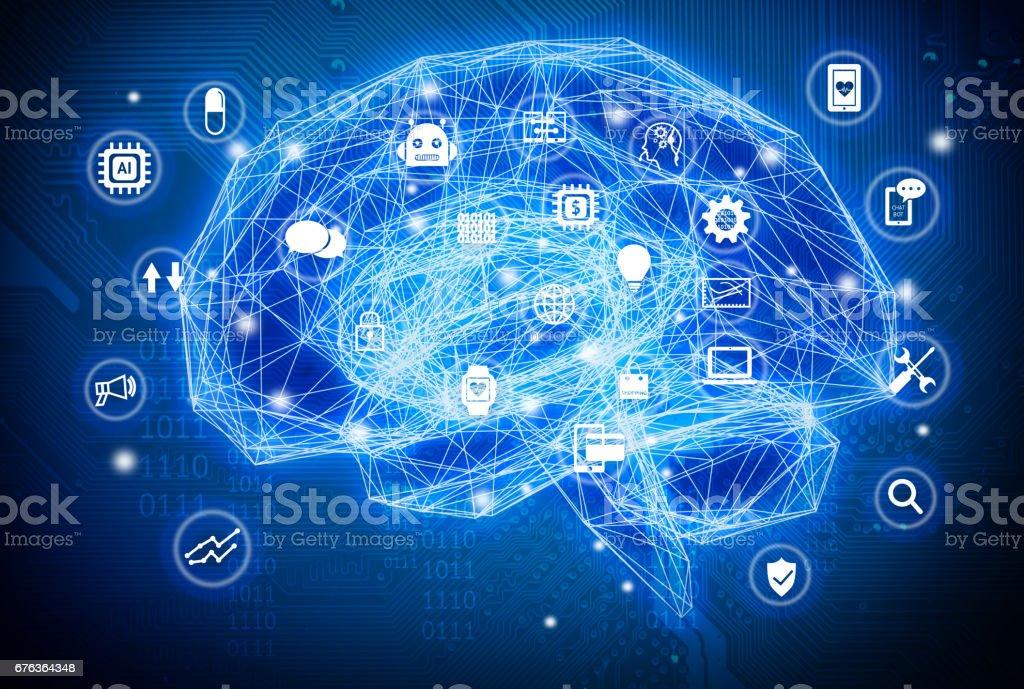 Maschinelles Lernen Künstliche Intelligenz Ki Tiefe Lernen Und ...