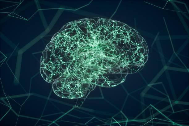 học máy, trí tuệ nhân tạo và khái niệm học sâu - brain activity hình ảnh sẵn có, bức ảnh & hình ảnh trả phí bản quyền một lần