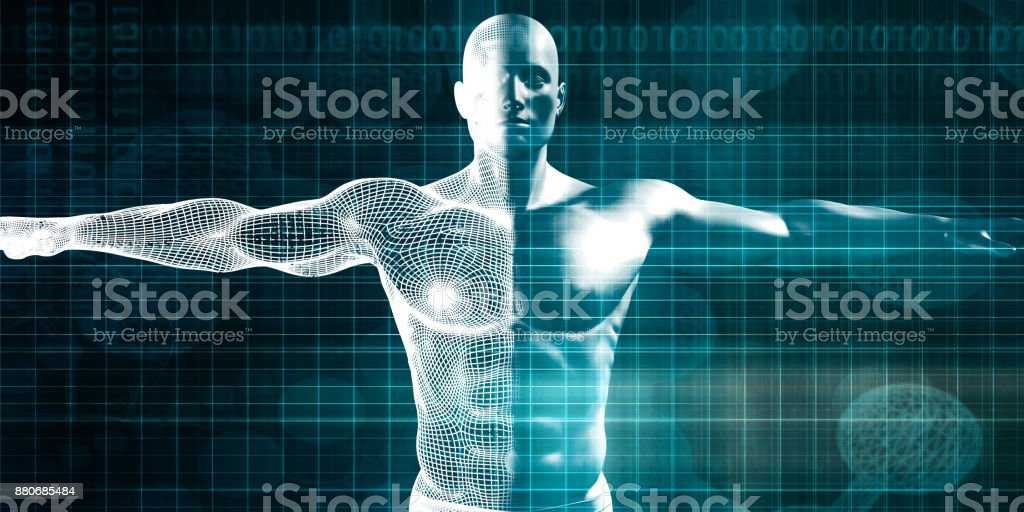 Machine Learning stock photo