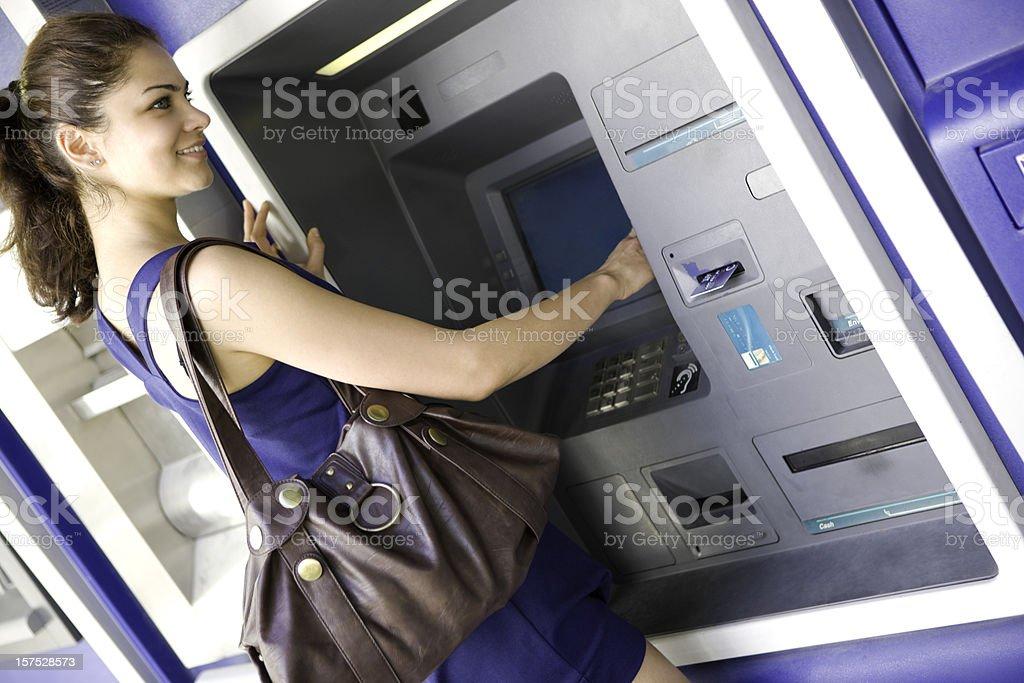 ATM machine royalty-free stock photo
