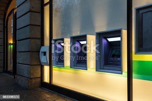 istock ATM machine 983398320