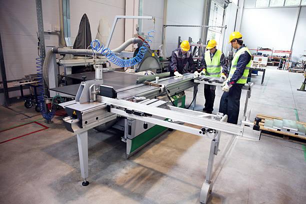 CNC machine-shop – Foto