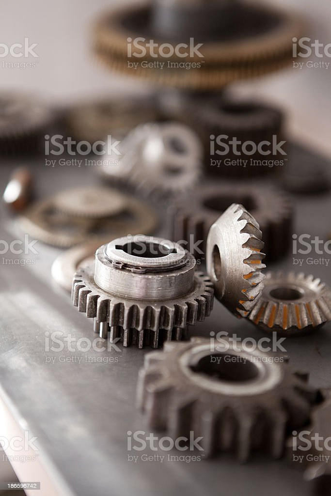 Machine Teeth royalty-free stock photo