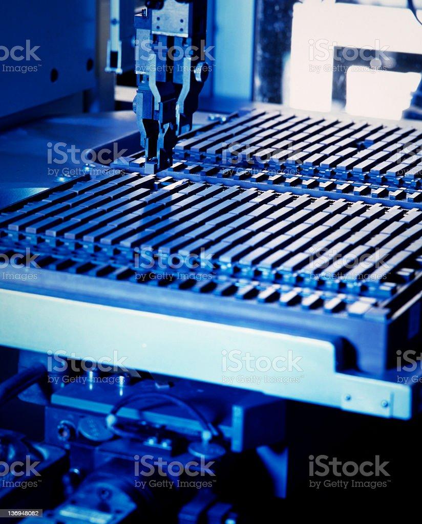 Elektronische Teil der Produktion – Foto