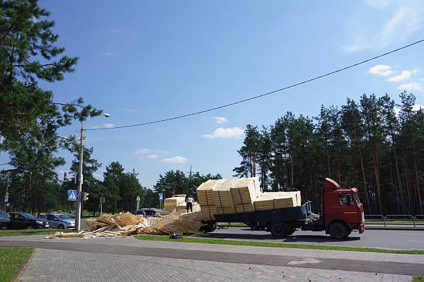 machine woodworking plant products overturned – zdjęcie