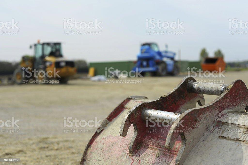 Maschinen in einer Baustelle – Foto