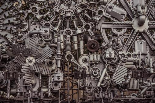 machinery background