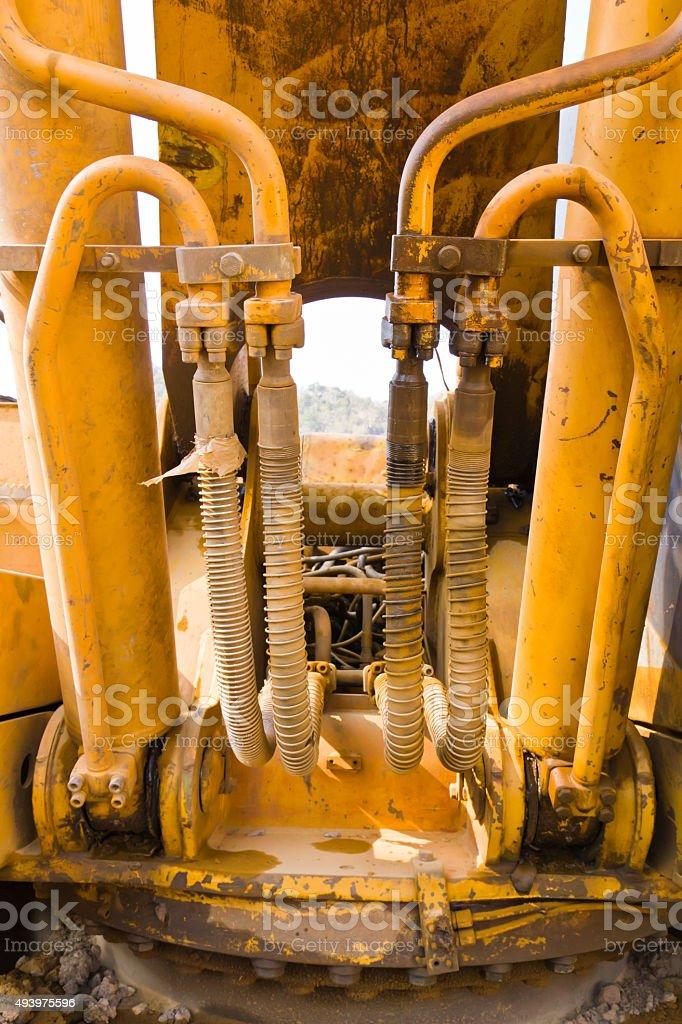 Machinery bulldozer1 stock photo