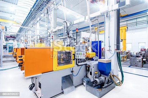 istock Machinery & equipment in production line 660659532