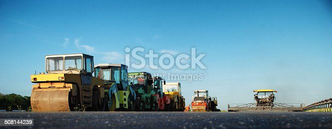 istock machinery for asphalt work 508144239