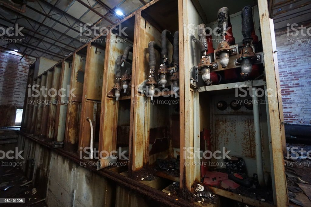 Machinery, Mechanical, Industrial, Factory royalty-free stock photo