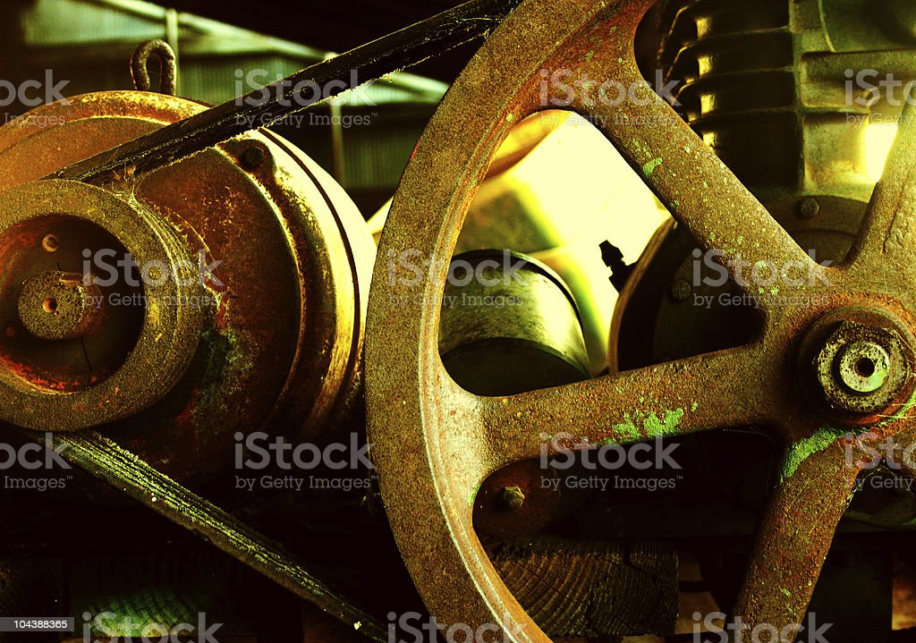 machinery royalty-free stock photo