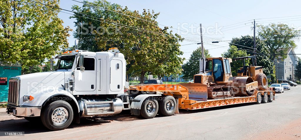 Machinery Transport stock photo