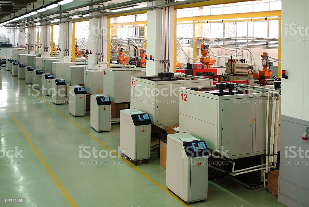 machines stock photo