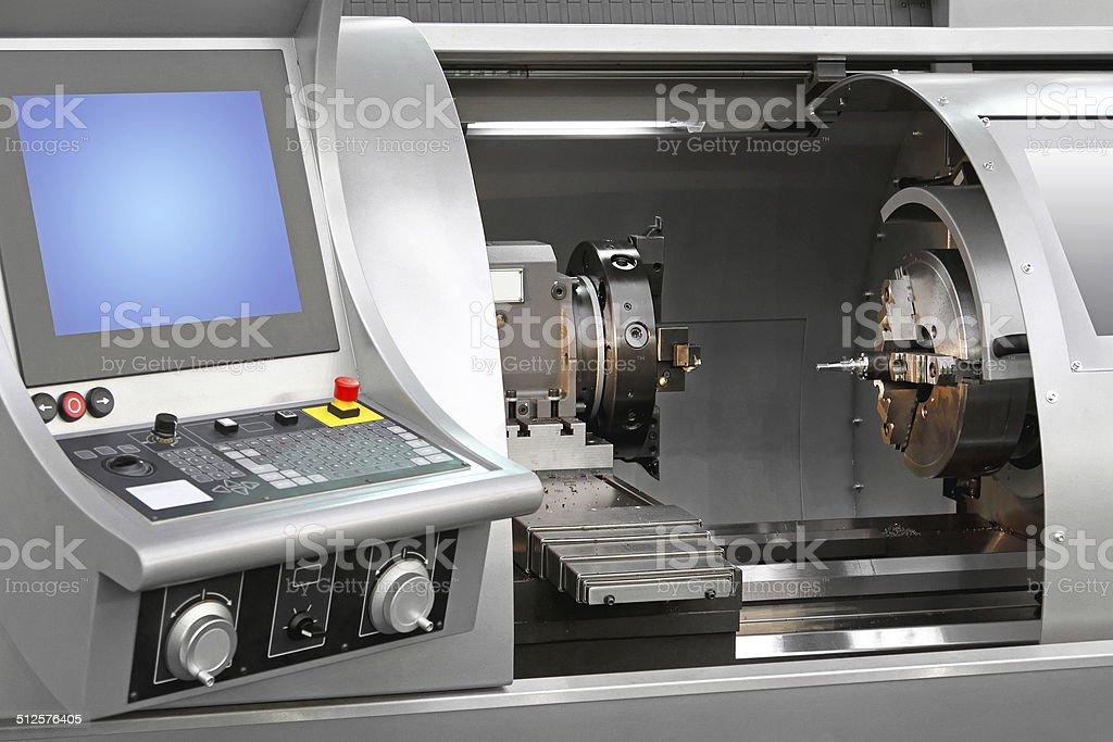Machining centre stock photo
