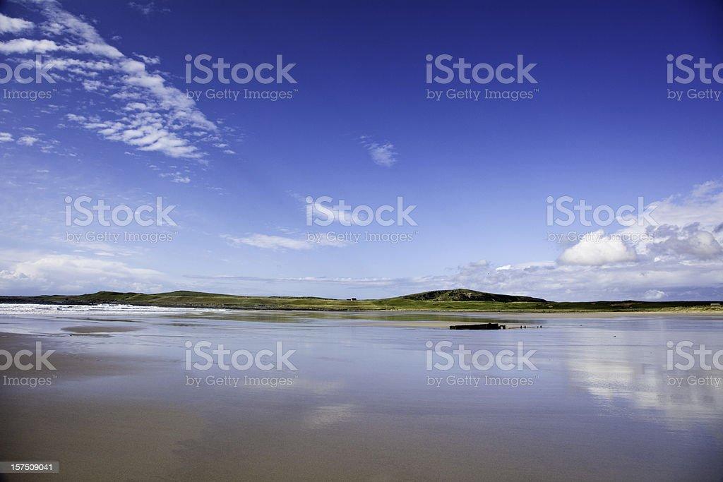 Machir Bay, Islay, Scotland stock photo