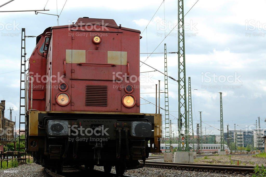 Train de macho photo libre de droits