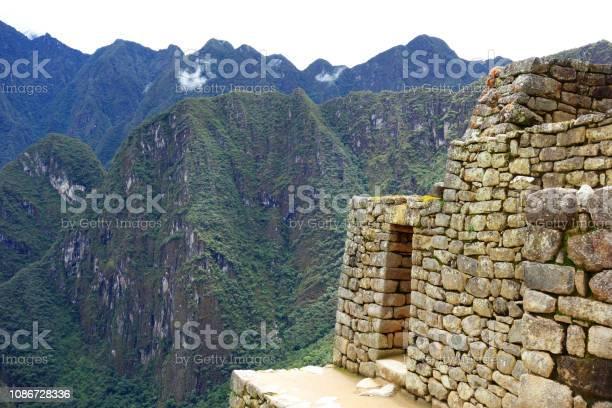 Photo of Machu Picchu ancient Inca ruins in the Sacred Valley, Peru