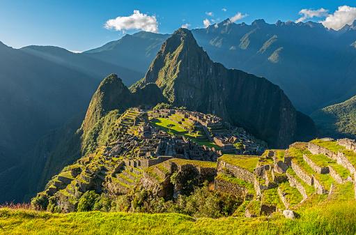 istock Machu Picchu at Sunset, Cusco Province, Peru 1131190416
