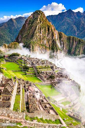 istock Machu Picchu, Cusco - Peru 700801242