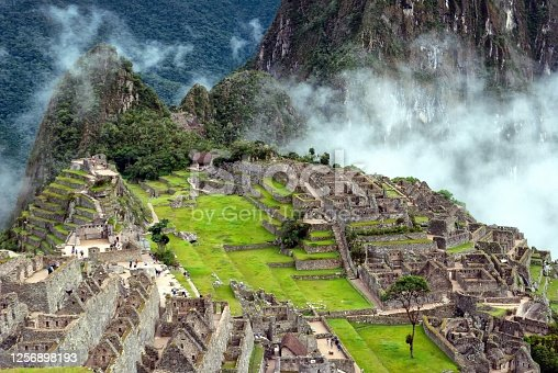 istock Machu Picchu from above 1256898193