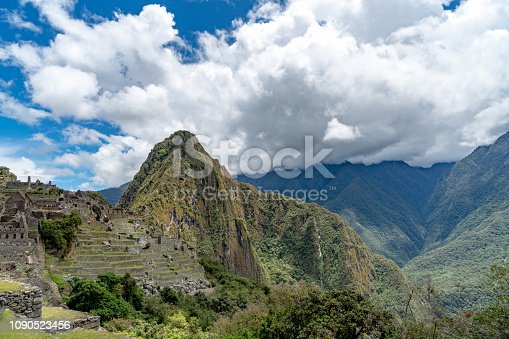 istock Machu Picchu In Peru 1090523456